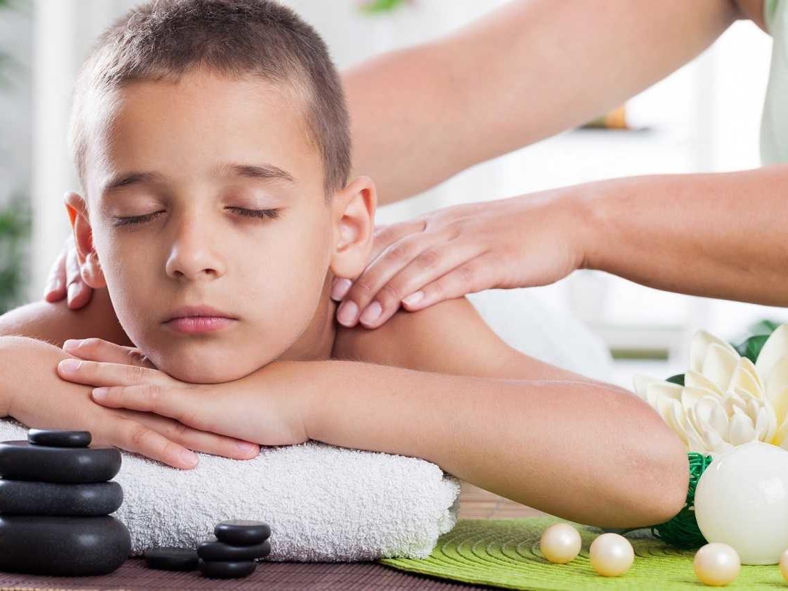 I bambini e il massaggio Thai: pratiche di utilizzo